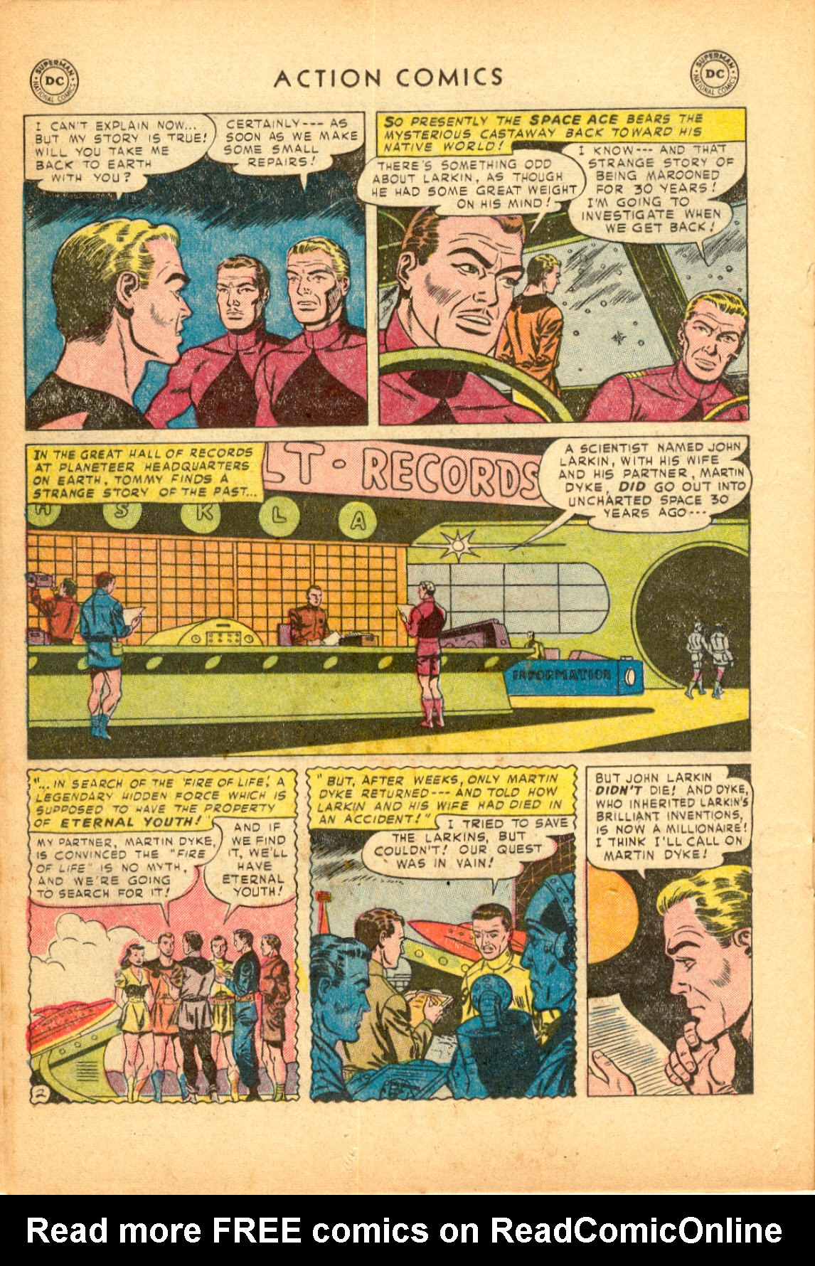 Read online Action Comics (1938) comic -  Issue #174 - 26