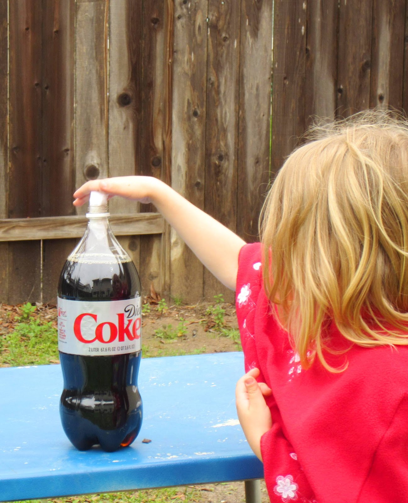 Diet Coke Mentos Experiment | TinkerLab |Coke And Mentos