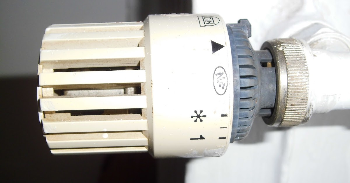 Le petit hacker v tre radiateur robinet thermostatique - Radiateur qui ne chauffe pas ...