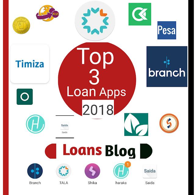 3 Top Loan Apps