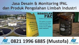 ADY WATER Jasa Pengolahan Limbah B3 Pengolahan Limbah Cair WWTP WTP STP di Bandung Jogjakarta Surabaya Tangerang Selatan