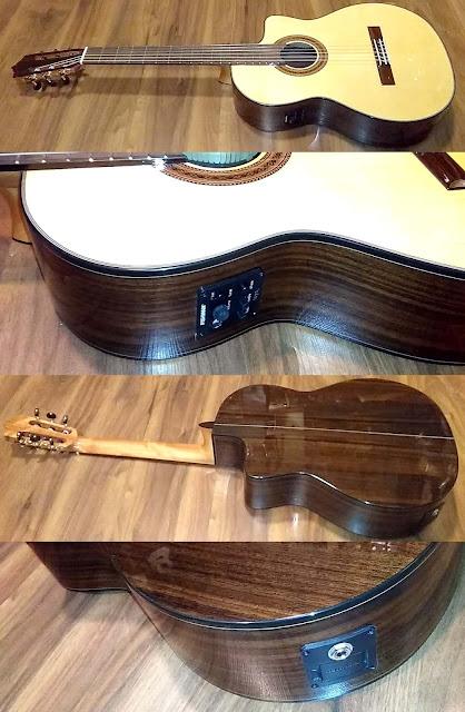 Guitarra española Martínez MCG58SCE