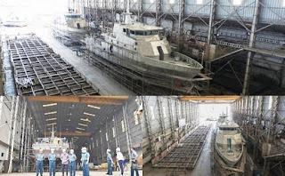 Pembangunan Dua Kapal Angkatan Laut (KAL) 28 meter Pesanan TNI AL