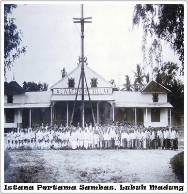 Hasil carian imej untuk sejarah sultan sambas