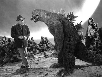 Godzilla detrás de las cámaras