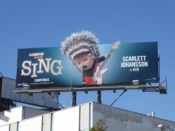 Sing special extension Ash billboard