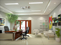 Design Home Office With Modern and Elegant Furniture Wallpaper