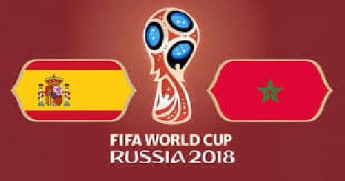 المغرب يختتم مشاركته في كاس العالم بالتعادل مع اسبانبا 2-2