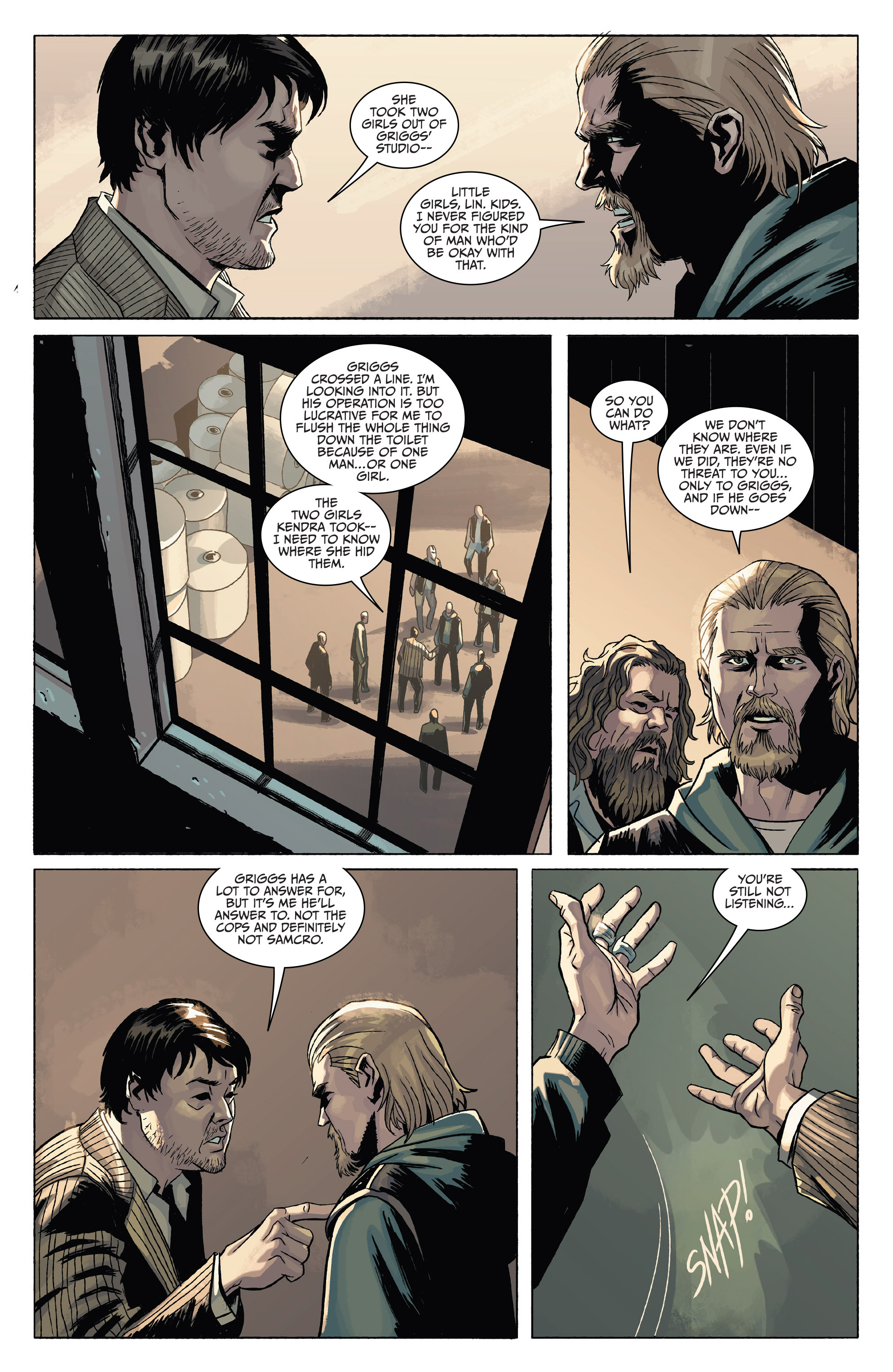 Read online Sons of Anarchy comic -  Issue #4 - 8