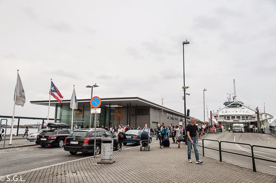 Fotografia del ferry de Stavanger a Tau