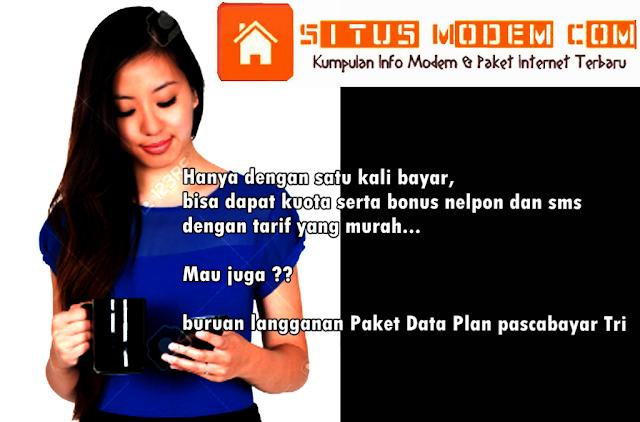 Paket Pascabayar Tri Ini Cocok Untuk Kamu Pengguna Smartphone