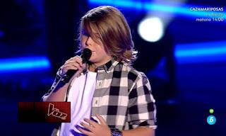 Sergio canta Always de Bon Jovi la voz kids