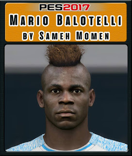 PES 2017 Faces Mario Balotelli by Sameh Momen