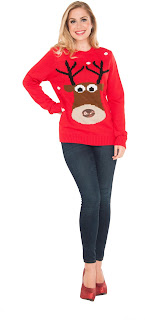 Adult Reindeer Christmas Sweater