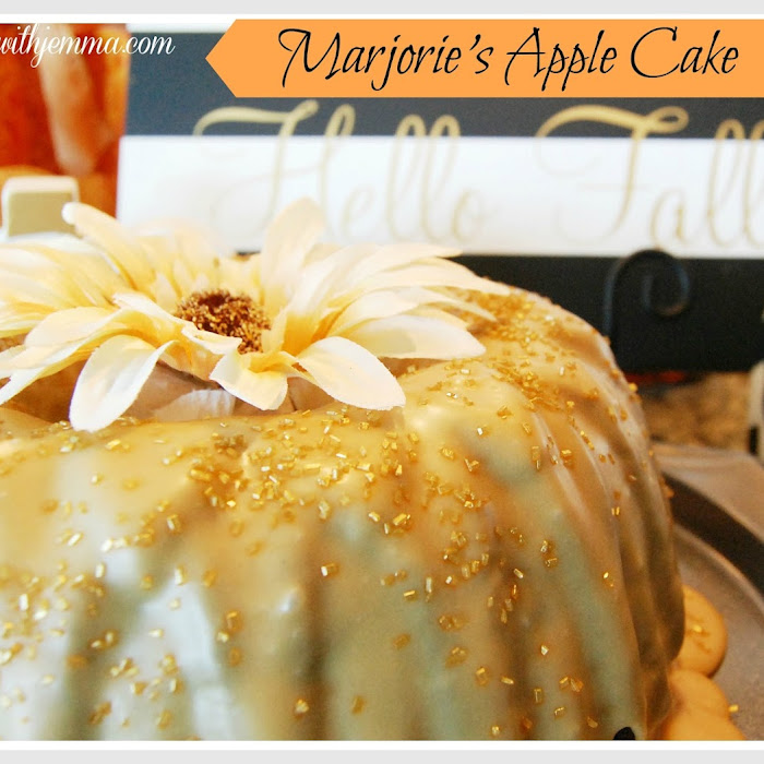 Marjorie's Apple Cake