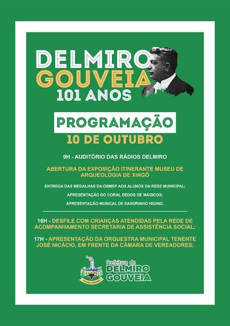 Participe da programação dos 101 anos da morte de Delmiro Augusto da Cruz Gouveia