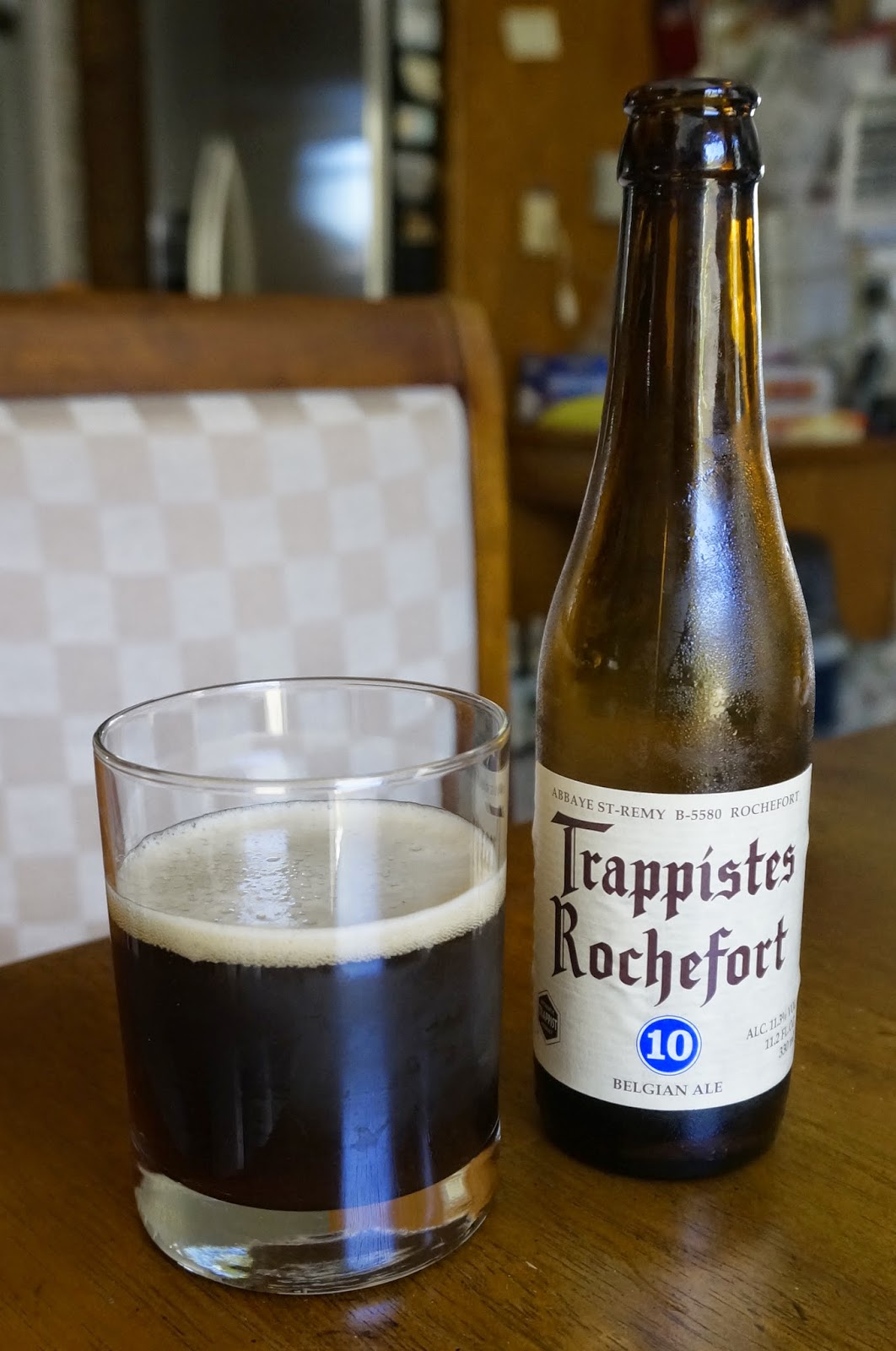 1c2c8fbade16 Prior to drinking this Rochefort Trappistes 10