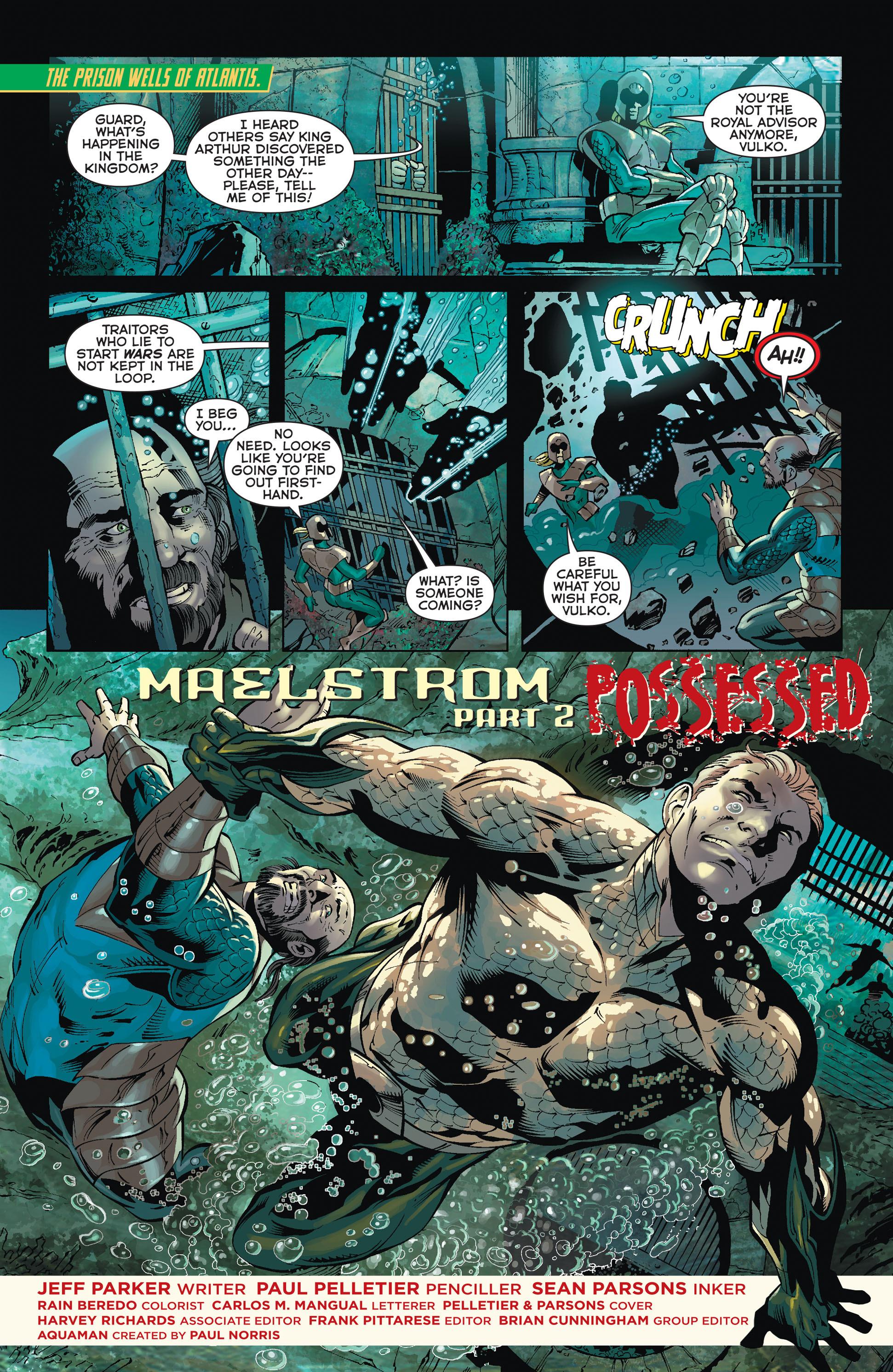 Read online Aquaman (2011) comic -  Issue #36 - 2