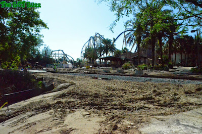 Busch Gardens Tampa Project 2016 : Construction Update #6