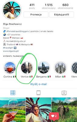 Olgusta Travel Blog - blog podróżniczy na Instagramie