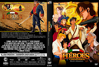 Heroes Verdaderos - Cover DVD