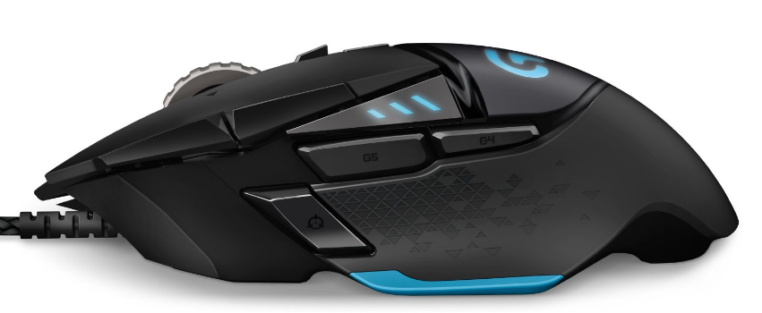 Logitech G502 Proteus Core Tunable Gaming Mouse Driver