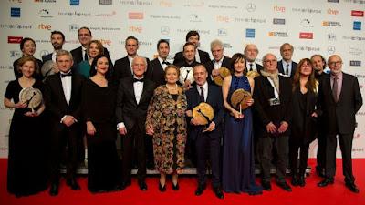 Los galardonados en los Premios Forqué