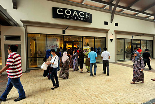 Coach Store at Johor Premium Outlets