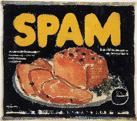 Warhol, Spam, Pop art