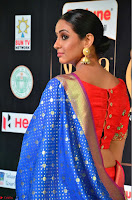 Priya Shree in Beautiful Blue Saree at IIFA Utsavam Awards 2017  Day 2    HD Exclusive Pics 17.JPG