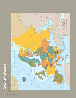 Apoyo Primaria Atlas de Geografía del Mundo 5to. Grado Capítulo 3 Lección 1 División Política de Europa