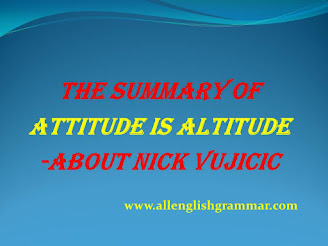 Attitude-Is-Altitude-Summary-About-Nick-Vujicic