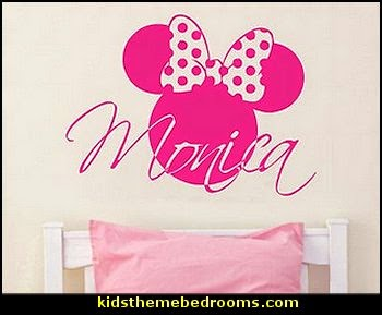 Mickey Mouse Bedroom Ideas   Minnie Mouse Bedroom Decorating   Mickey Mouse  Bedding   Minnie Mouse