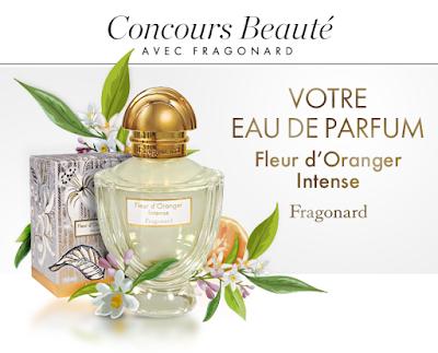 Jeu Concours 40 Parfums Fleur D'oranger Intense Fragonard Gratuits