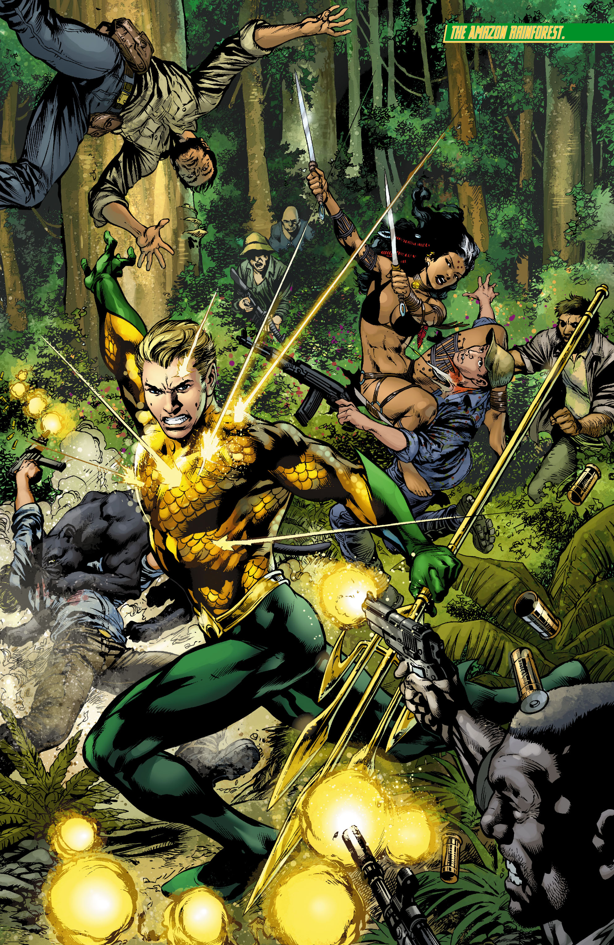 Read online Aquaman (2011) comic -  Issue #9 - 11