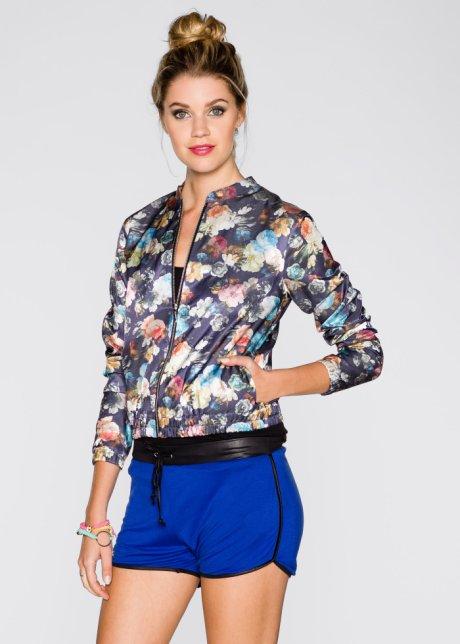 Son Moda Rahat Kesim Çiçek Desenli Bluzon Ceket bonprix