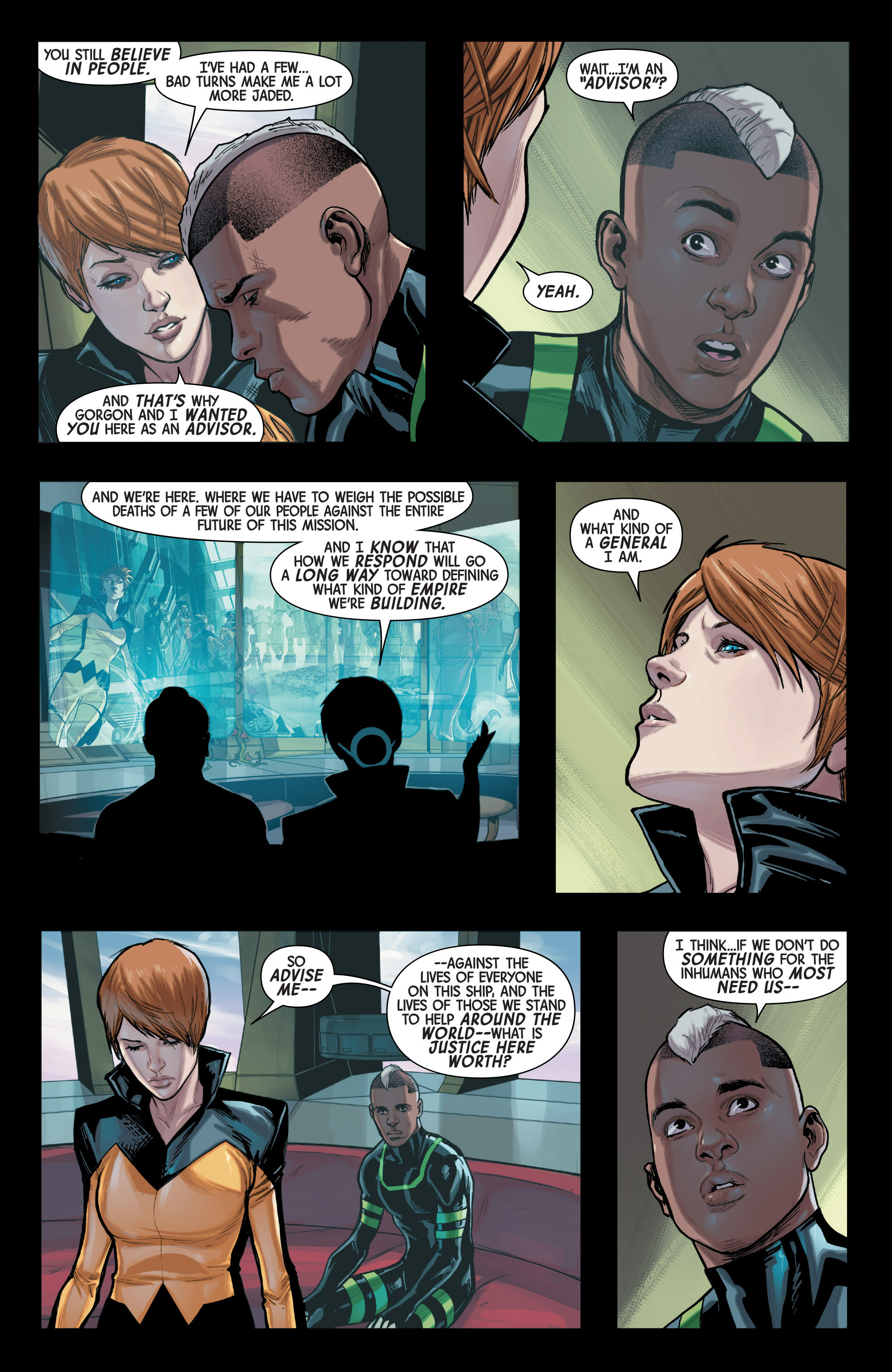 Read online All-New Inhumans comic -  Issue #3 - 7