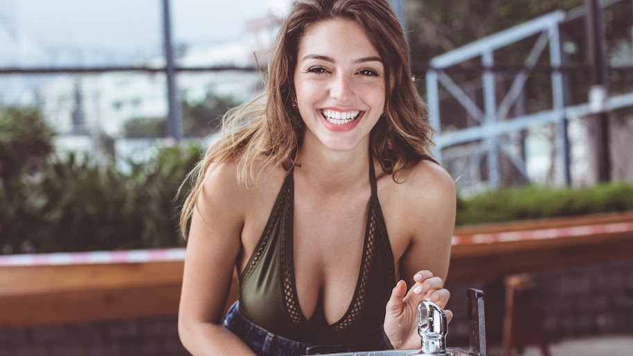 Celine Farach, Beautiful, Women, Smile, Model, 8K, #365