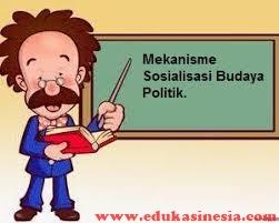 Mekanisme dan Agen Sosialisasi Budaya Politik  Beserta Penjelasannya
