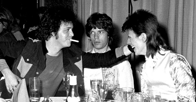 Lour Reed- Mick Jagger - David Bowie