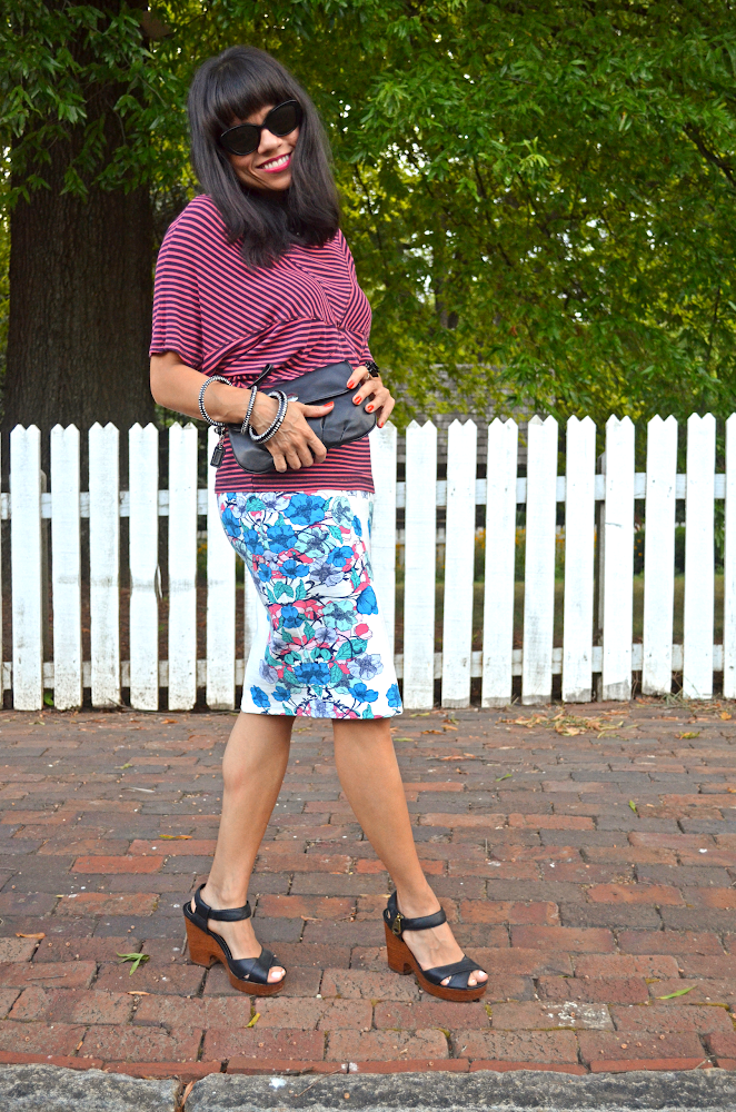 Mixed Patterns Outfit