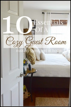 CREATE A COZY GUEST ROOM