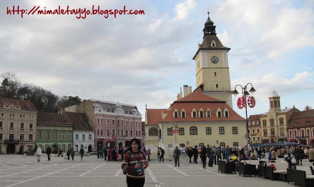 Plaza del Ayuntamiento, Brasov