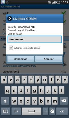 connexion wifi avec une tablette sans carte sim
