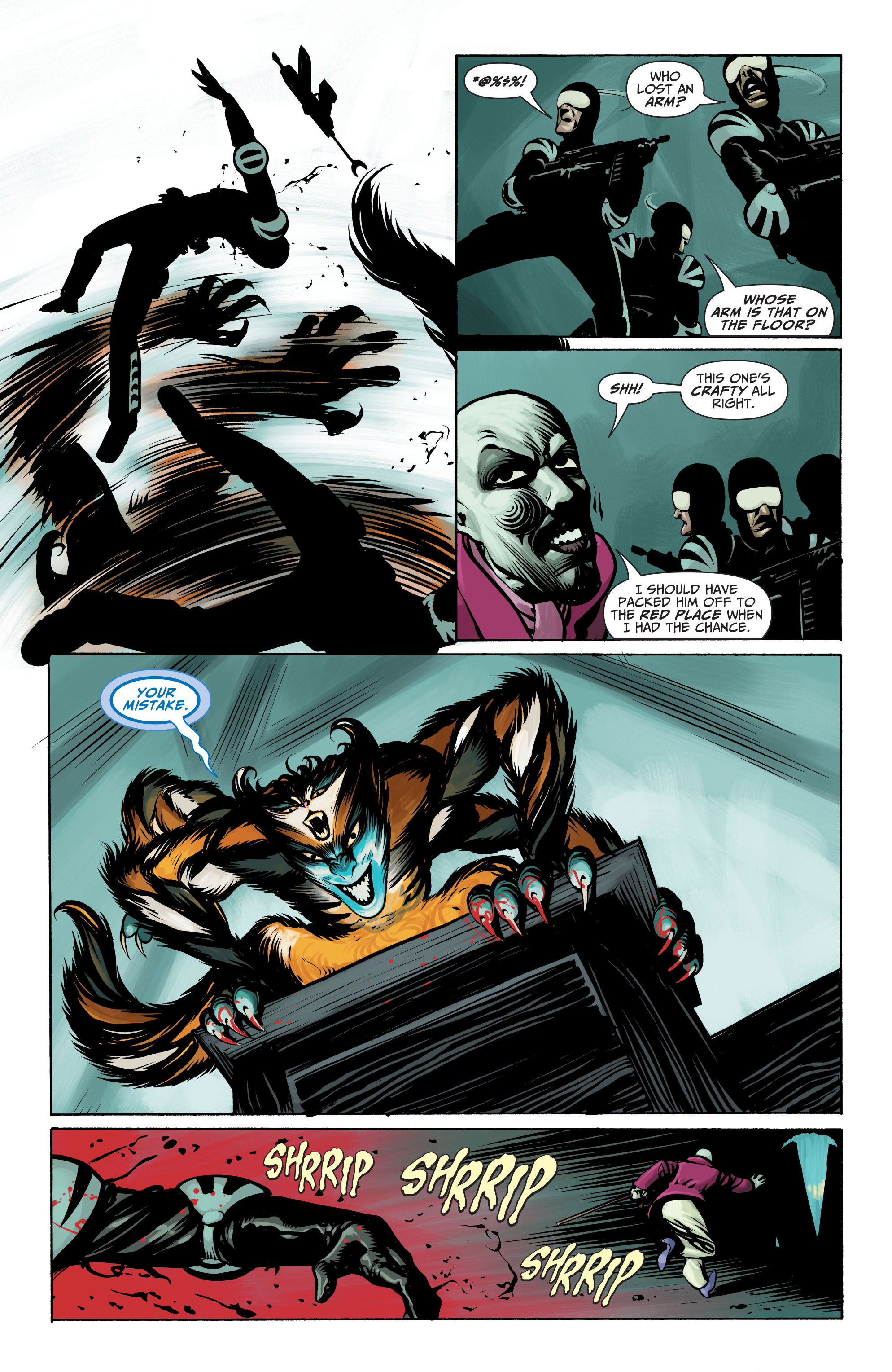 Read online Seven Soldiers: Klarion the Witch Boy comic -  Issue #4 - 17
