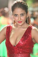 Parul Yadav in Sleeveless Deep Neck Red Gown at IIFA Utsavam Awards March 2017 075.JPG