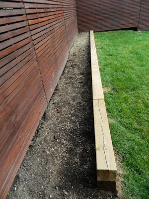 Humewood-Cedarvale new backyard garden perennial bed before by Paul Jung Gardening Services Toronto