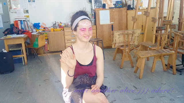 face painting art class