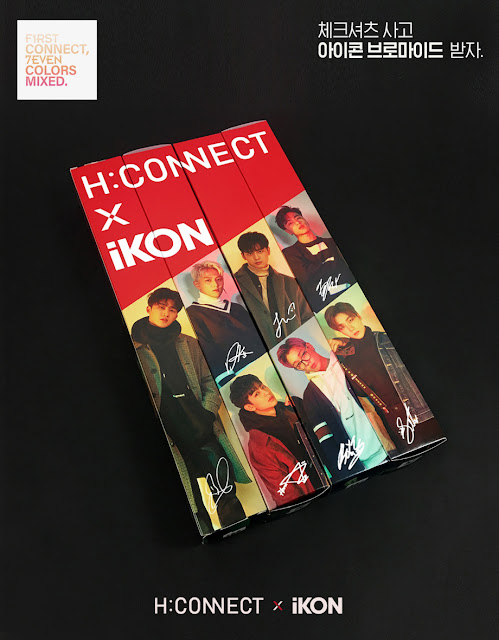 iKON x H:CONNECT 2018 Fall / Winter Collection
