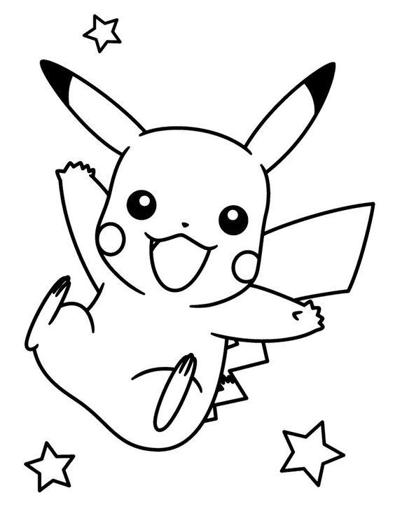 Tranh tô màu Pokemon 83